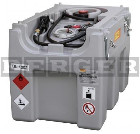Dieseltank DT-Mobil Easy mit Elektropumpe 24V und Zapfpistole mit ADR-Zulassung